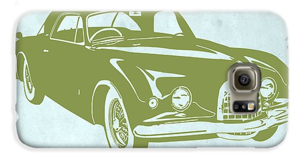 Landmarks Galaxy S6 Case - Classic Car by Naxart Studio