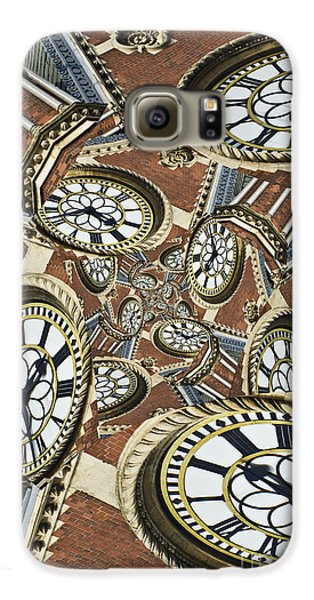 Galaxy S6 Case featuring the photograph Clocked by Clare Bambers