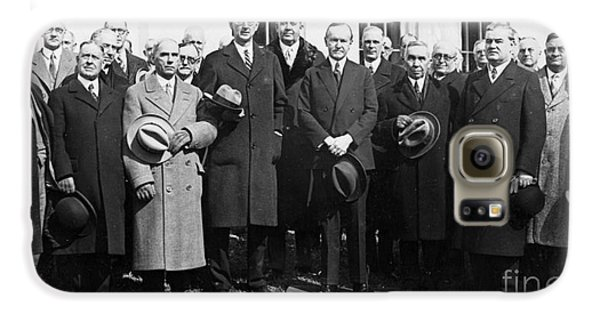 Coolidge: Freemasons, 1929 Galaxy S6 Case by Granger