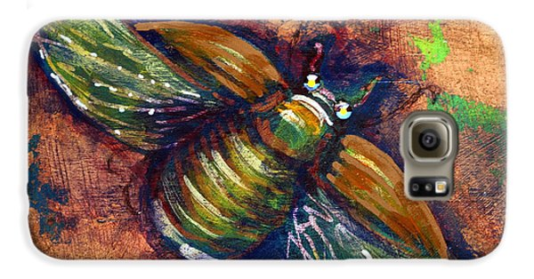 Copper Beetle Galaxy S6 Case