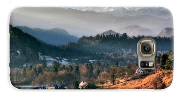Countryside. Slovenia Galaxy S6 Case by Juan Carlos Ferro Duque
