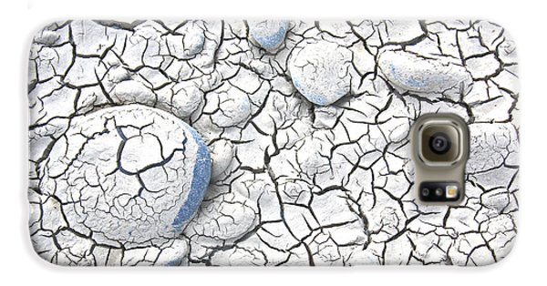 Galaxy S6 Case featuring the photograph Cracked Earth by Nareeta Martin