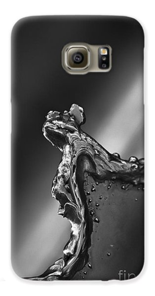 Galaxy S6 Case featuring the photograph Cutting Edge Sibelius Monument by Clare Bambers