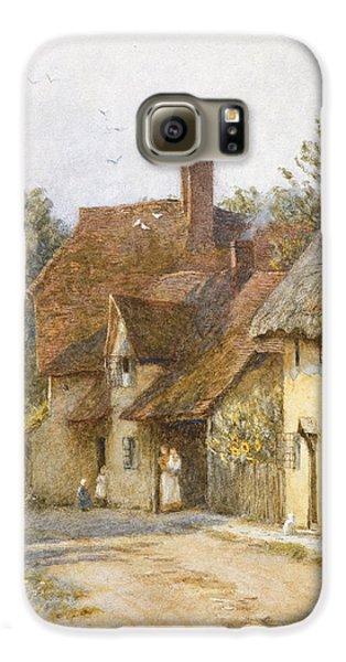 Town Galaxy S6 Case - East Hagbourne Berkshire by Helen Allingham