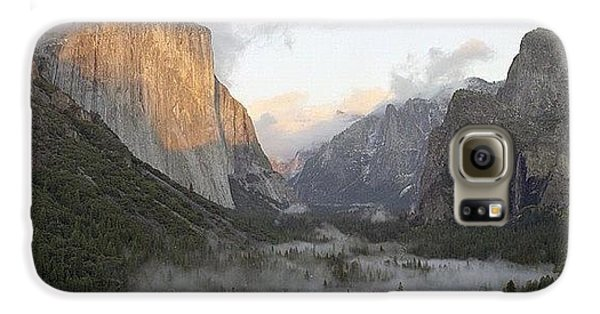 City Galaxy S6 Case - El Capitan. Yosemite by Randy Lemoine