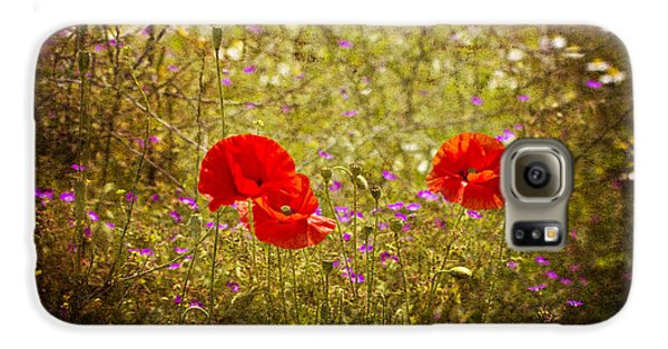 Galaxy S6 Case featuring the photograph English Summer Meadow. by Clare Bambers - Bambers Images