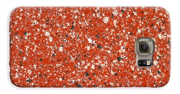 Fake Granite Galaxy S6 Case by Henrik Lehnerer