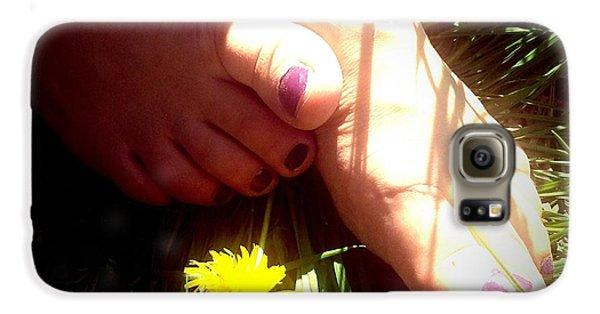 Bright Galaxy S6 Case - Feet In Grass - Summer Meadow by Matthias Hauser