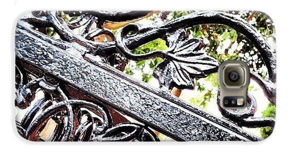 #fence #gate #decorative #ornamental Galaxy S6 Case