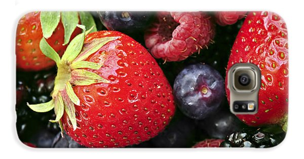 Fresh Berries Galaxy S6 Case by Elena Elisseeva