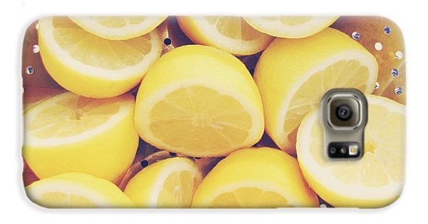 Fresh Lemons Galaxy S6 Case