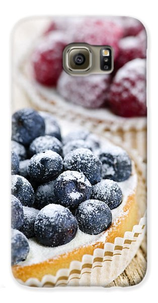 Fruit Tarts Galaxy S6 Case by Elena Elisseeva