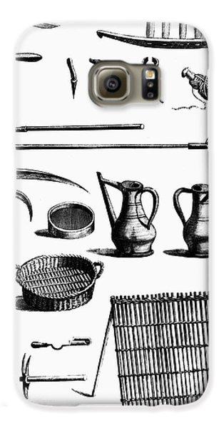Garden Galaxy S6 Case - Gardening Tools by Granger