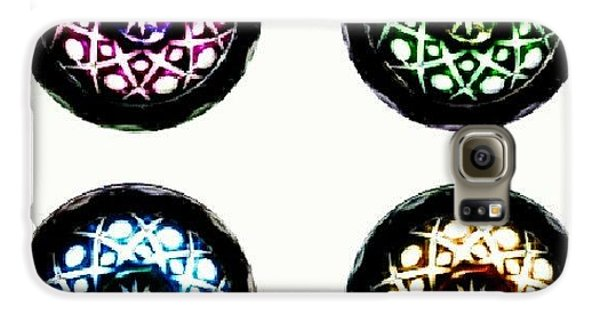 Decorative Galaxy S6 Case - Glass Bowl. #glass #bowl #bright by Kristal Cooper
