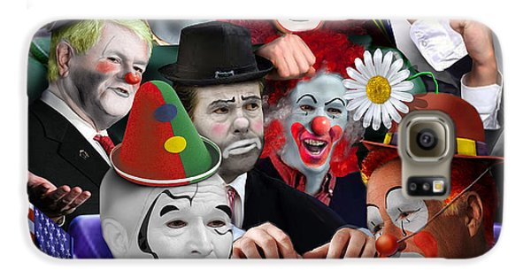 Gop - The Greatest Show On Earth Galaxy S6 Case by Reggie Duffie