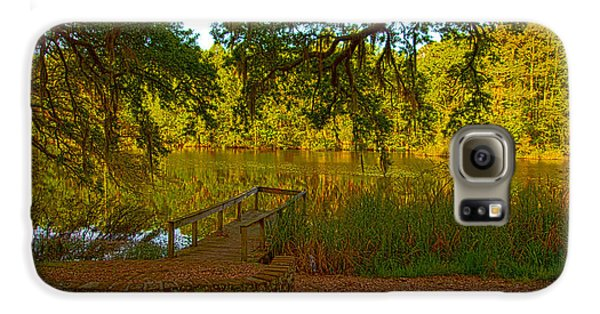 Hobcaw Barony Pond Galaxy S6 Case by Bill Barber