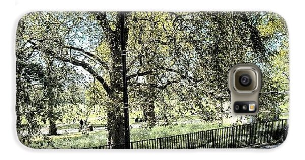 London Galaxy S6 Case - #hydepark #hydeparkcorner #london2012 by Abdelrahman Alawwad