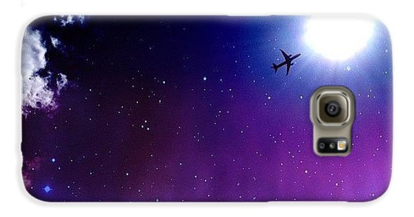 Blue Galaxy S6 Case - Into The Nebula by Randy Lemoine