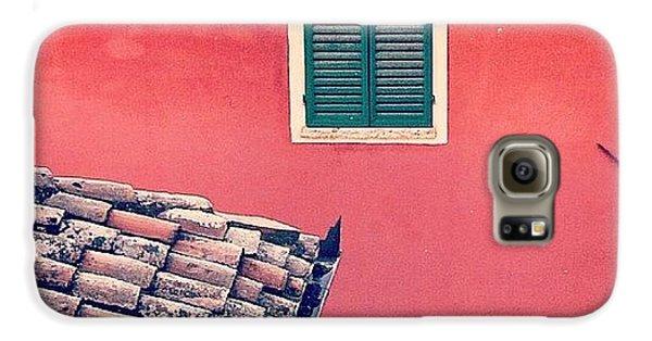 House Galaxy S6 Case - Italian Geometry #house #shutters by A Rey