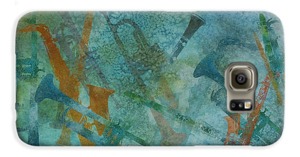 Jazz Improvisation One Galaxy S6 Case by Jenny Armitage