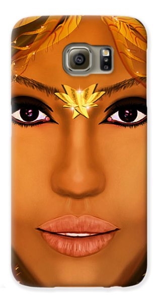 Jessica Alba Fairy Tale Galaxy S6 Case by Mathieu Lalonde