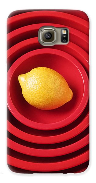 Lemon In Red Bowls Galaxy S6 Case