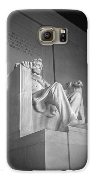 Lincoln Memorial  Galaxy S6 Case by Mike McGlothlen