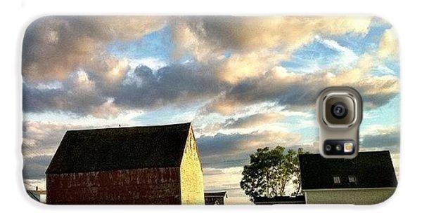 Little Tancook Island Farmhouse Galaxy S6 Case