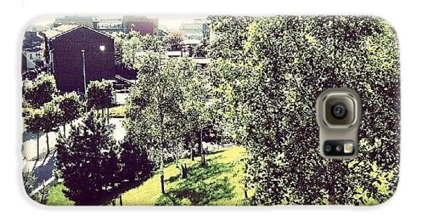 House Galaxy S6 Case - #liverpool #uk #england #green #tree by Abdelrahman Alawwad