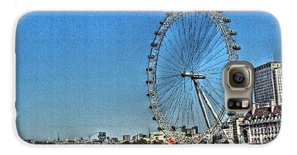 London Galaxy S6 Case - London Eye, #london #londoneye by Abdelrahman Alawwad