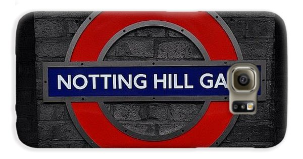 London Galaxy S6 Case - #london #nottinghillgate #underground by Ozan Goren