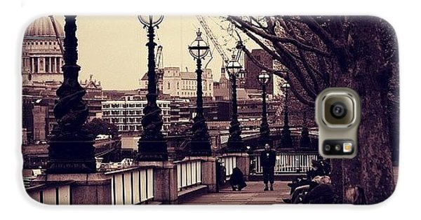 London Galaxy S6 Case - #london #southbank #stpaul by Ozan Goren