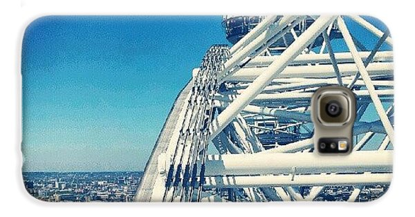 Follow Galaxy S6 Case - #londoneye #sky #clouds #high #london by Abdelrahman Alawwad