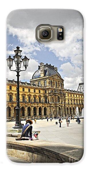 Louvre Museum Galaxy S6 Case by Elena Elisseeva