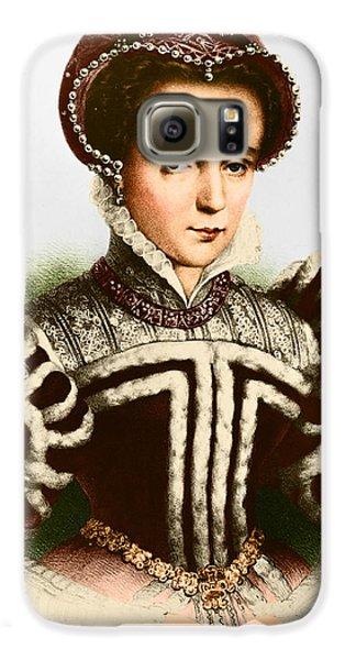 Mary I, Queen Of England And Ireland Galaxy S6 Case by Omikron