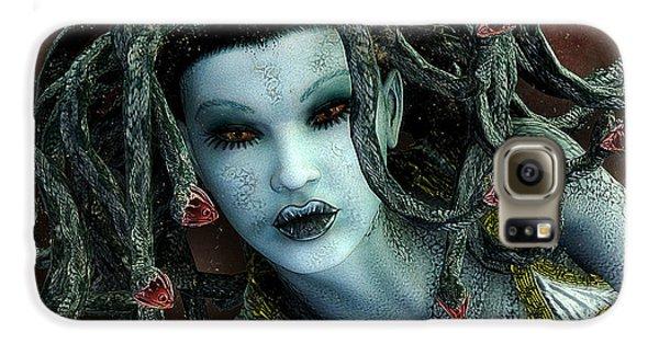 Medusa Galaxy S6 Case by Jutta Maria Pusl