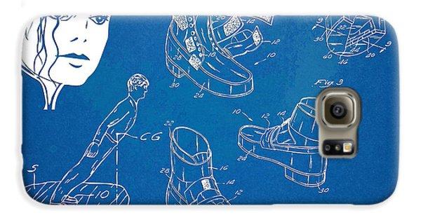 Michael Jackson Anti-gravity Shoe Patent Artwork Galaxy S6 Case by Nikki Marie Smith