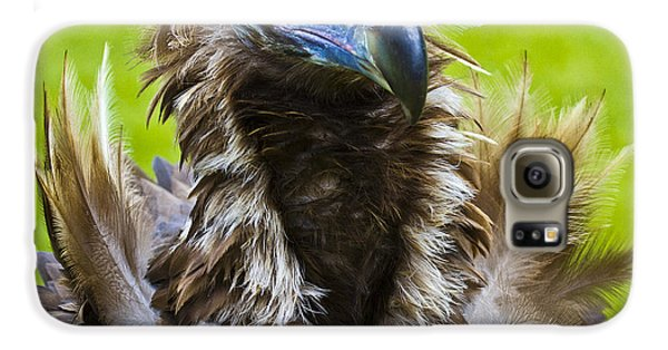 Monk Vulture 4 Galaxy S6 Case by Heiko Koehrer-Wagner