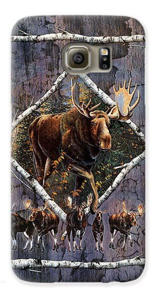 Bull Galaxy S6 Case - Moose Lodge by JQ Licensing