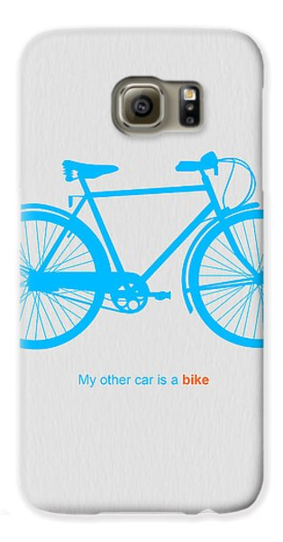 My Other Car Is A Bike  Galaxy S6 Case