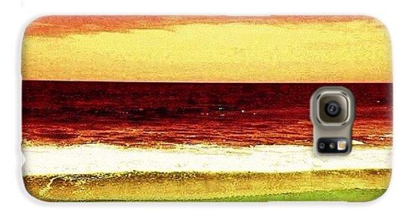 Beautiful Galaxy S6 Case - #myrtlebeach #ocean #colourful by Katie Williams