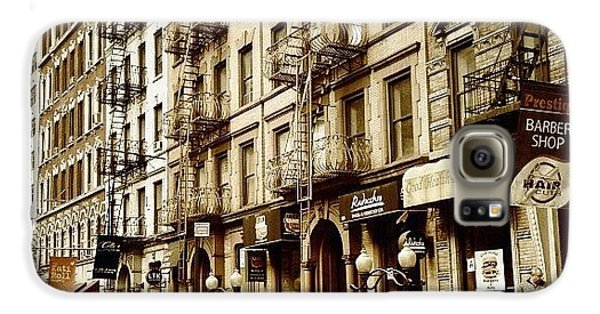 New York City - Back In Time Galaxy S6 Case by Vivienne Gucwa