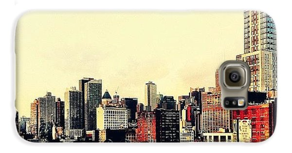New York City Rooftops Galaxy S6 Case