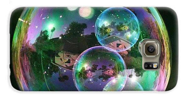 Cool Galaxy S6 Case - #nofilter #doubletap #bubbles by Mandy Shupp