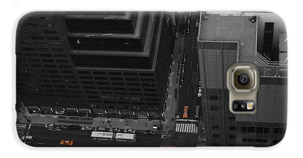 Nyc From The Top 1 Galaxy S6 Case by Naxart Studio