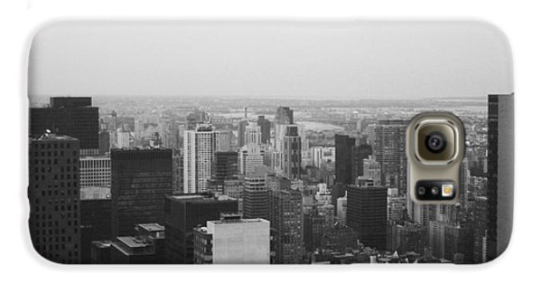 Nyc From The Top 3 Galaxy S6 Case by Naxart Studio