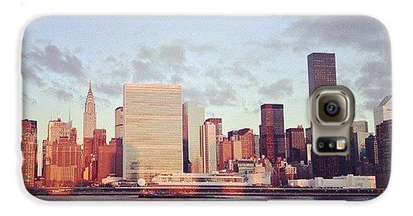 City Galaxy S6 Case - Nyc Sunrise by Randy Lemoine