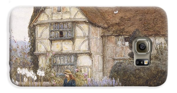 Garden Galaxy S6 Case - Old Manor House by Helen Allingham
