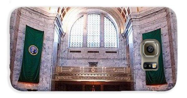 Oregon State Capitol Galaxy S6 Case