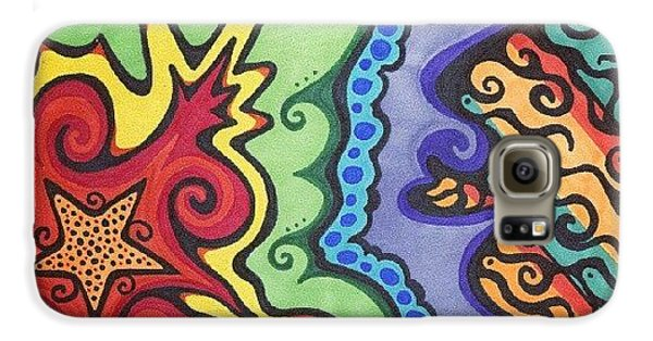Cool Galaxy S6 Case - Original #sharpie Art ! From by Mandy Shupp